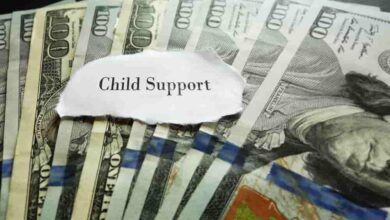 Financial assistance for fathers paying child support