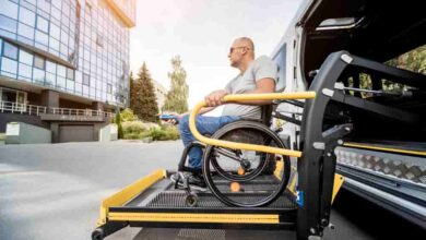 Free transportation service for the disabled