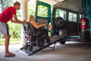 handicapped transportation services
